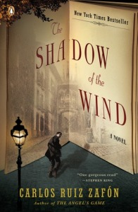 Carlos Ruiz Zafon The Shadow of the Wind book cover